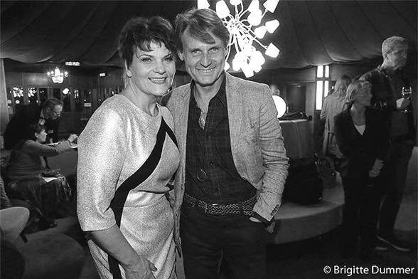 gayle tufts und wolfgang bahro: after show party @ tipi berlin