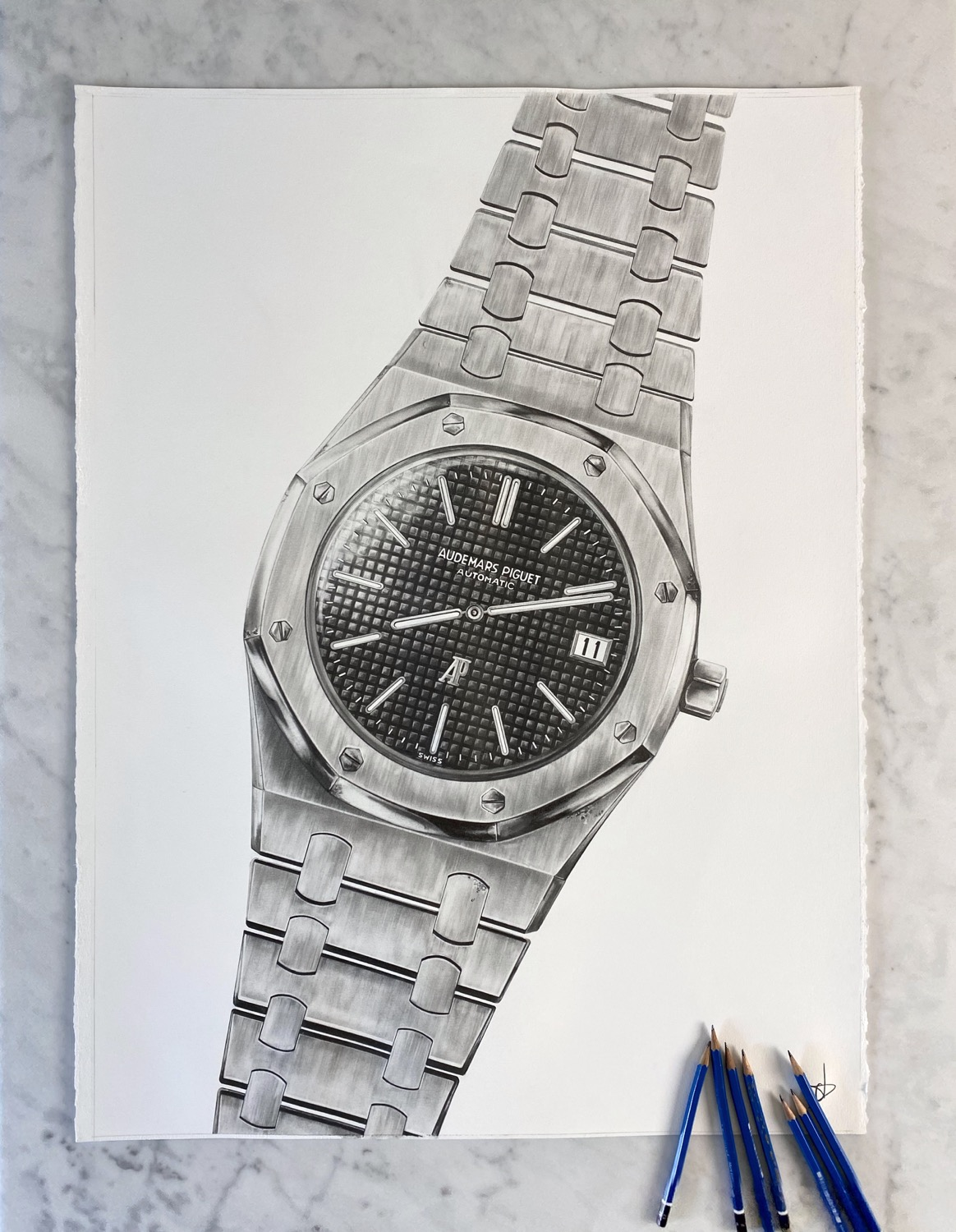 Thumbnail: Print Audemars Piguet Royal Oak réf. 5402