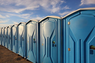 portable bathrooms for rent
