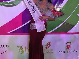 Nicole Lamourtte Nueva reina del Carnaval Santiago.