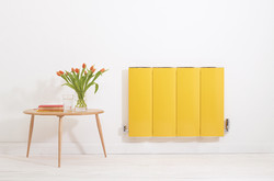 06-lissett-radiator-in-traffic-yellow-ral-1023-in-hallway