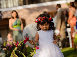 Corona floral boda panama