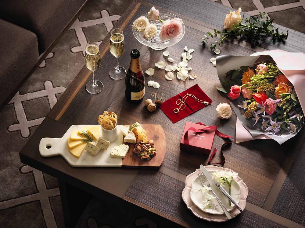Table Setting San Valentin