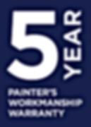 5 Year Painter's Workmanship Warranty_PM