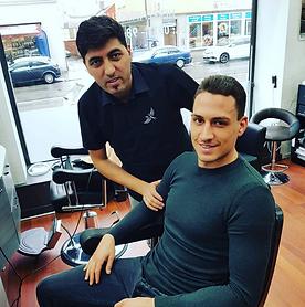 Friseur der Profis Club Friseur Berber Soner Südstadt Georg Margreitter
