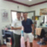 Club Trainer Michael Köllner Berber Soner Herrenfriseur Club-Friseur