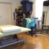 Praxiseinrichtung Behandlung Physiotherapie Praxis Paulius