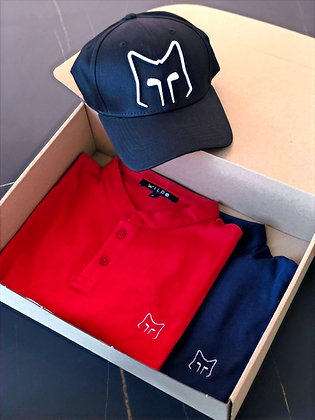 Box 2 polos homme & Casquette