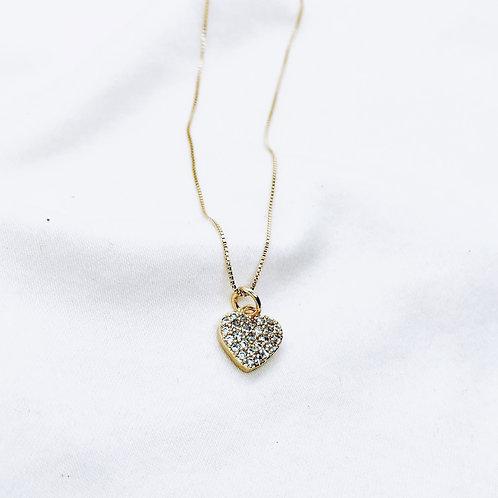 Collar Sparkle Love