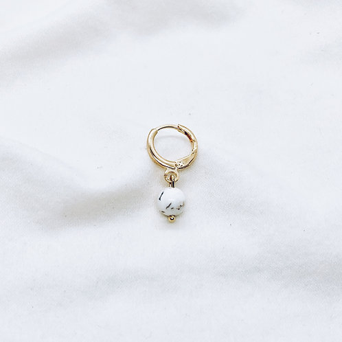 Piercing White Marble