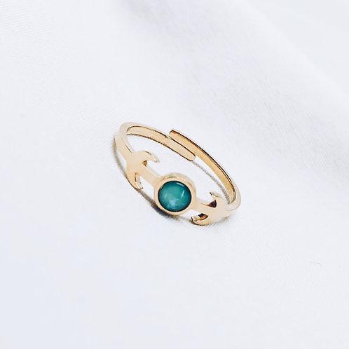 Anillo Blue Opal