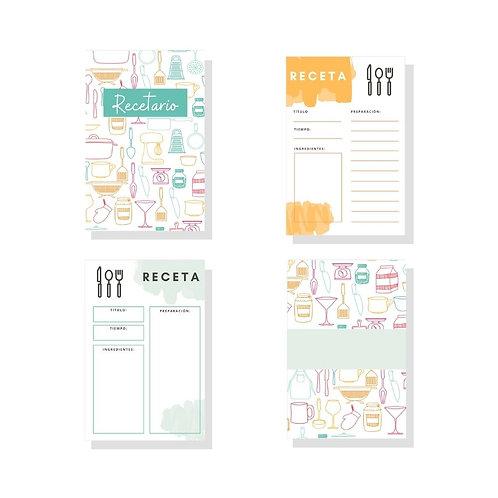 Recipe Kit Colorful