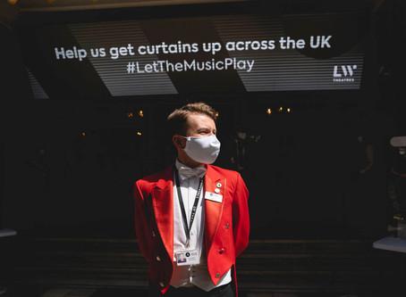 The London Palladium holds first socially distanced pilot performance