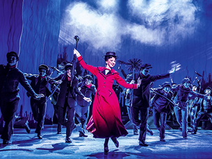 Mary Poppins flies back into the West End from 7 August 2021