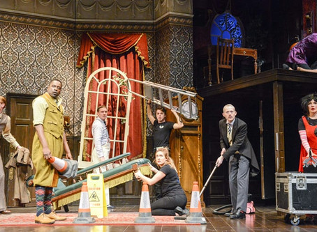 The Play That Goes Wrong returns to the West End from November