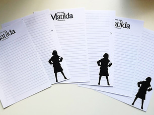 Matilda the Musical notepad announced for Plus Ten Directory