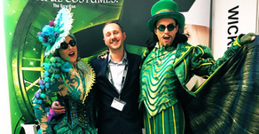 Wicked cause a stir at the GO Travel Show!