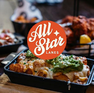 All Star Lanes Members Page Food Button.