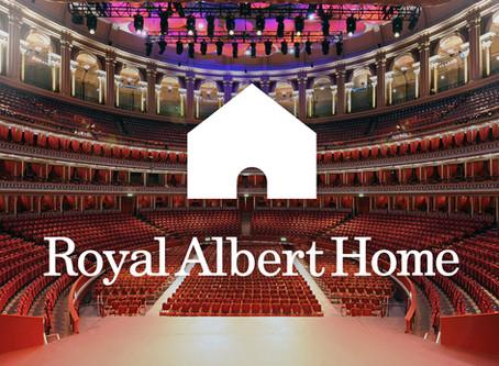 Royal Albert Hall launches #RoyalAlbertHome