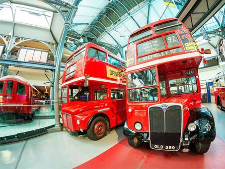 London Transport Museum is open!