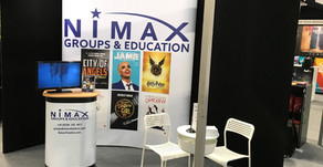 Plus Ten host Nimax Groups & Education stand at Excursions 2020