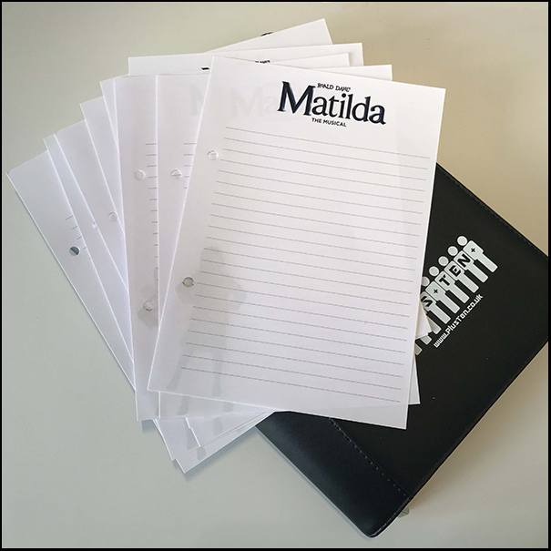London For Groups Directory Matilda Note