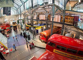 London Transport Museum is open!