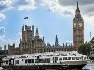 Group dining with a difference; all aboard Bateaux London