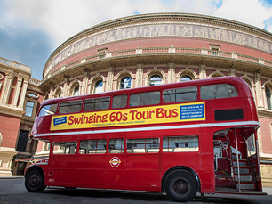 Swinging 60's London are are ready to rock the streets of London
