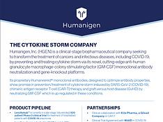 Humanigen Corporate Fact Sheet