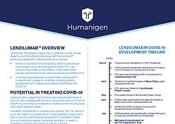 Lenzilumab Fact Sheet