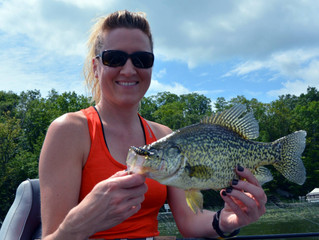 Summer Trolling for Crappies!