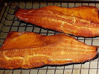 Smoked Lake trout…
