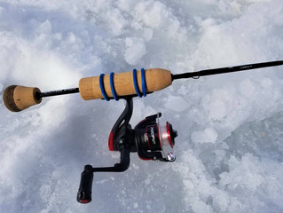 Thick Ice and Trout Bites