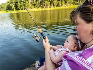 Family Time and Current Black Hills Fishing Report