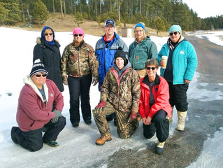 Group Outing with the Outdoor Women of South Dakota Organization