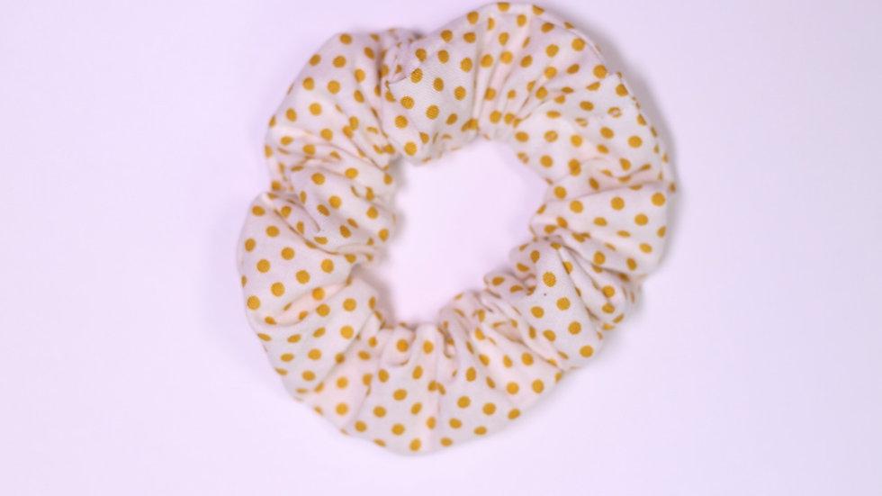 Golden Coins Scrunchie