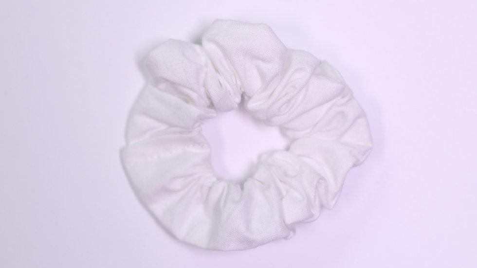 White Scrunchie