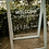 Thumbnail: Hire | A-Frame custom signage