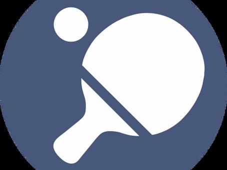 Einladung zum freien Tischtennistraining