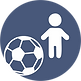 Fußball-Jungen