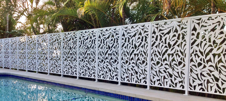 Custom Designed Garden Screen