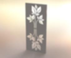 Fandangles Mirrored Leaf Screen Design