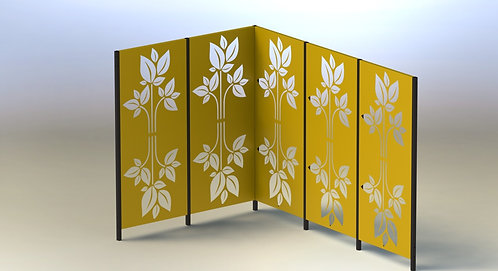 5-Panelled Screen Sets