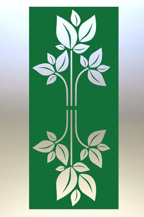 Mirrored Leaf