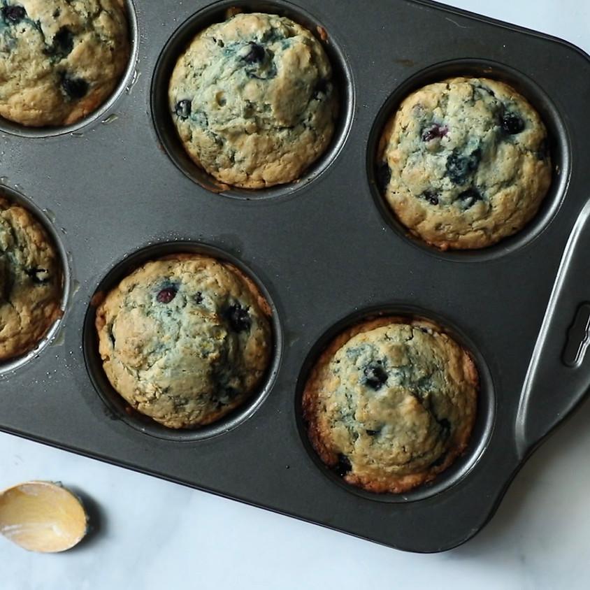 The Best Vegan Blueberry Muffins with The Korean Vegan