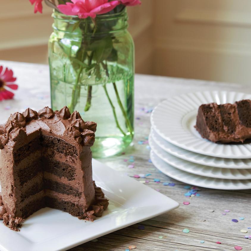 Recording of Keto mini-layer cakes with Kristie Sullivan