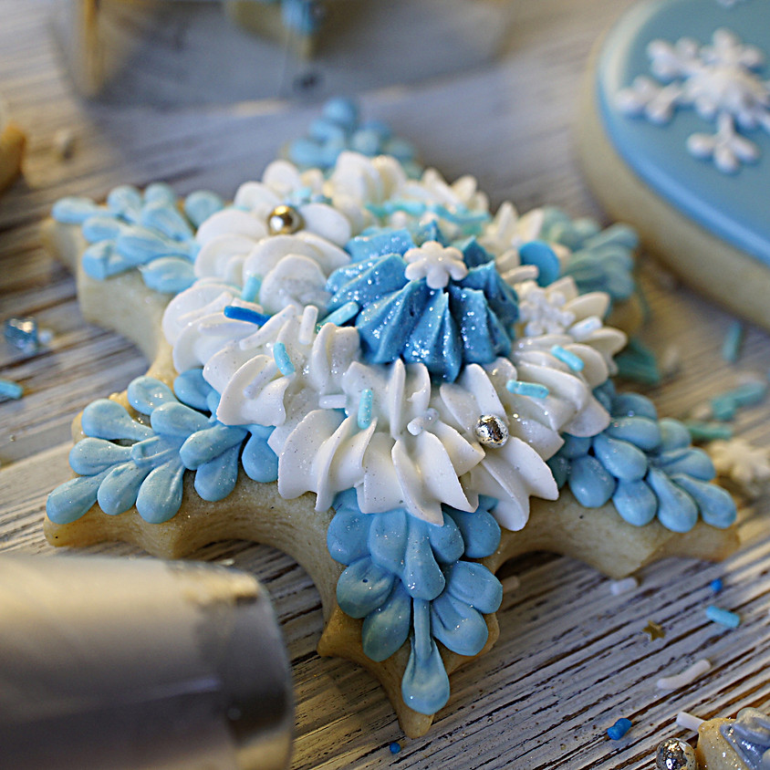 Recording of Royal Icing Workshop – Winter Festivities with Borderlands Bakery