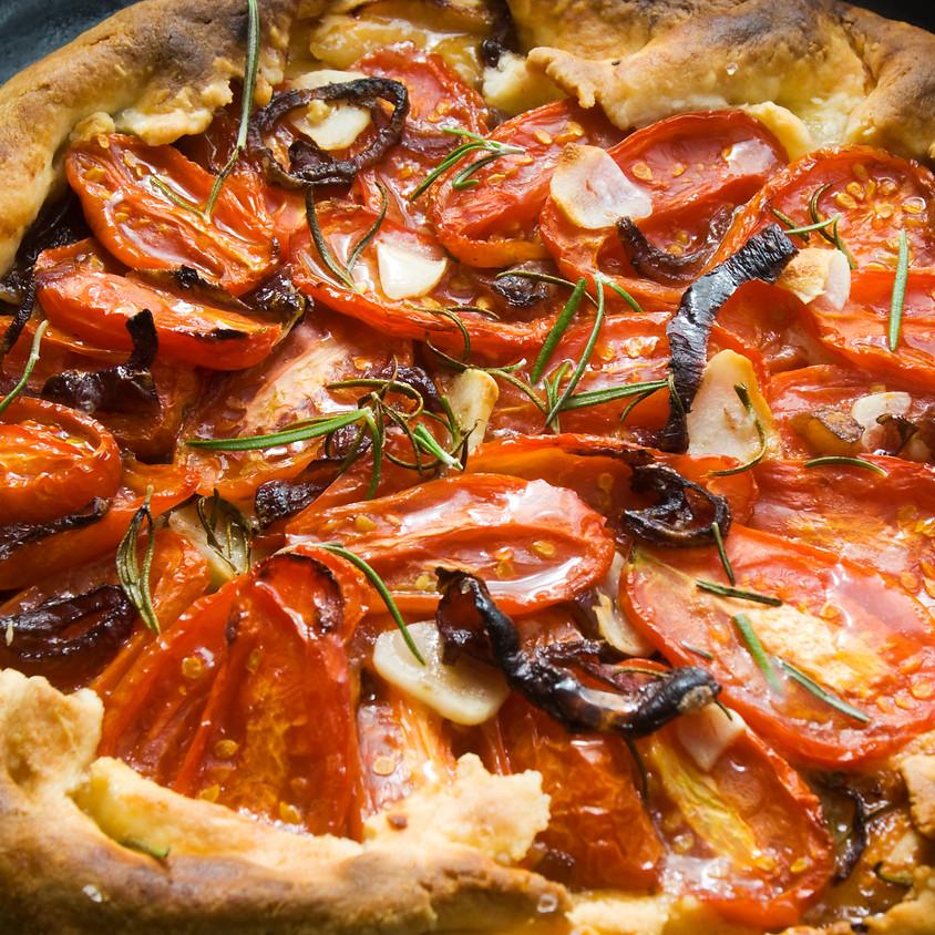 Summer Tomato Galette