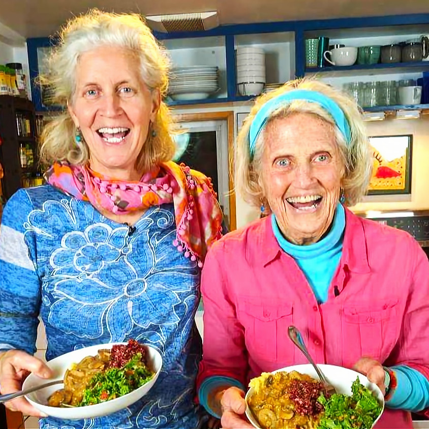 Meatless Monday with Jane and Ann (1)